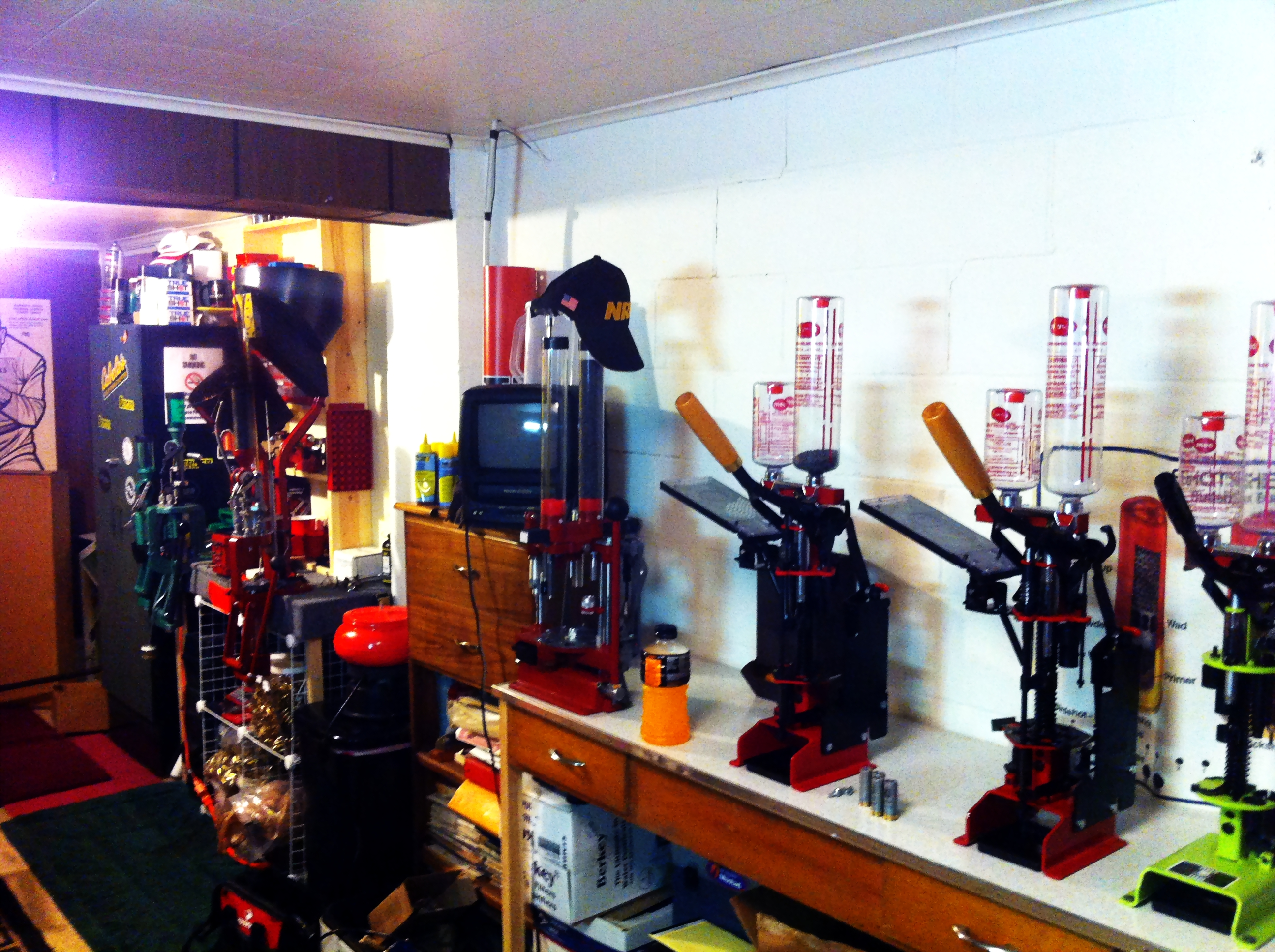 How about a photo or two of your reloading area??? - Shotgun