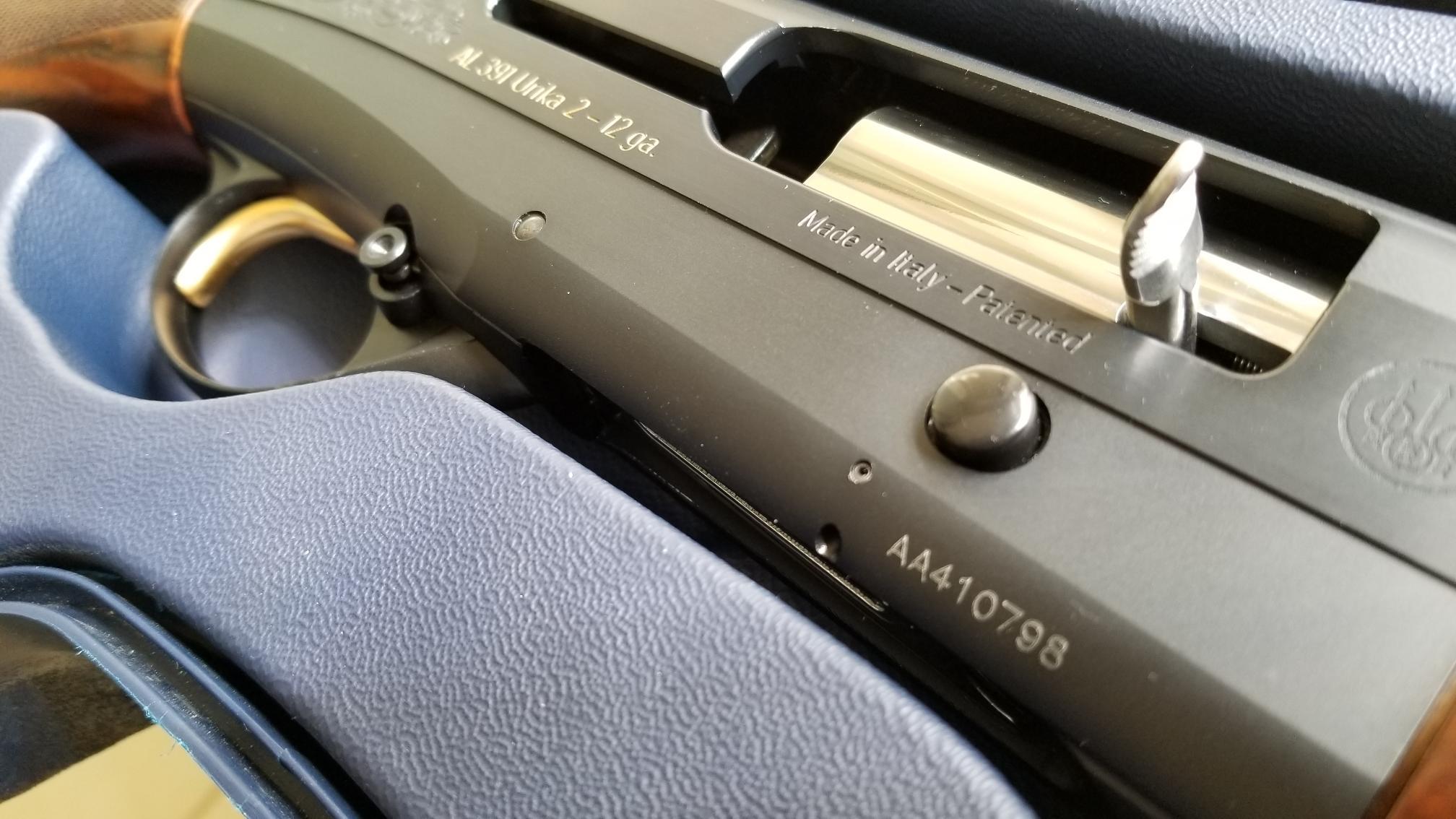 Beretta AL391 URIKA 2 - 12 g - Like NEW! * * *-20180418_095857.jpg