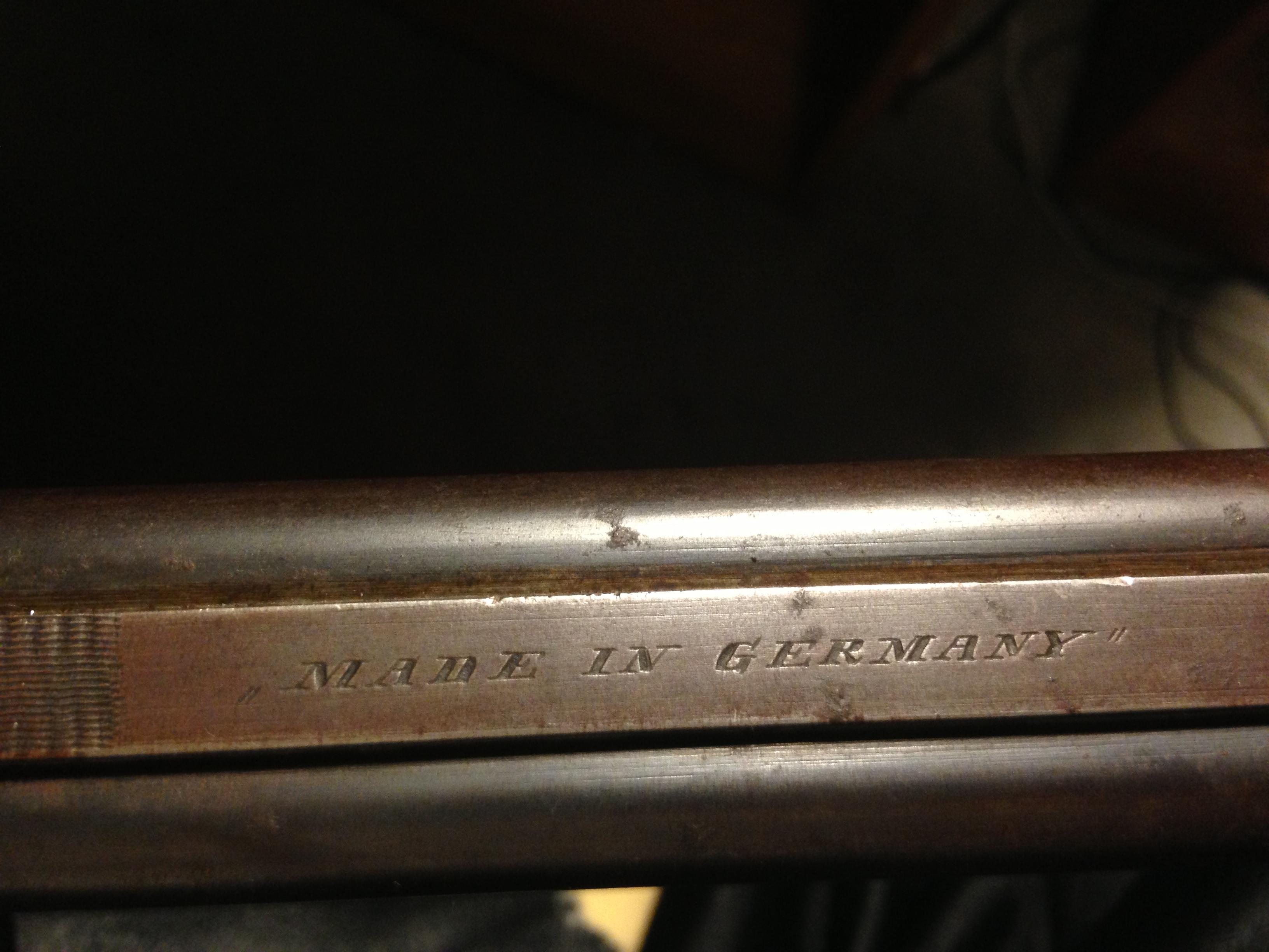 Old German SxS - Shotgun Forums