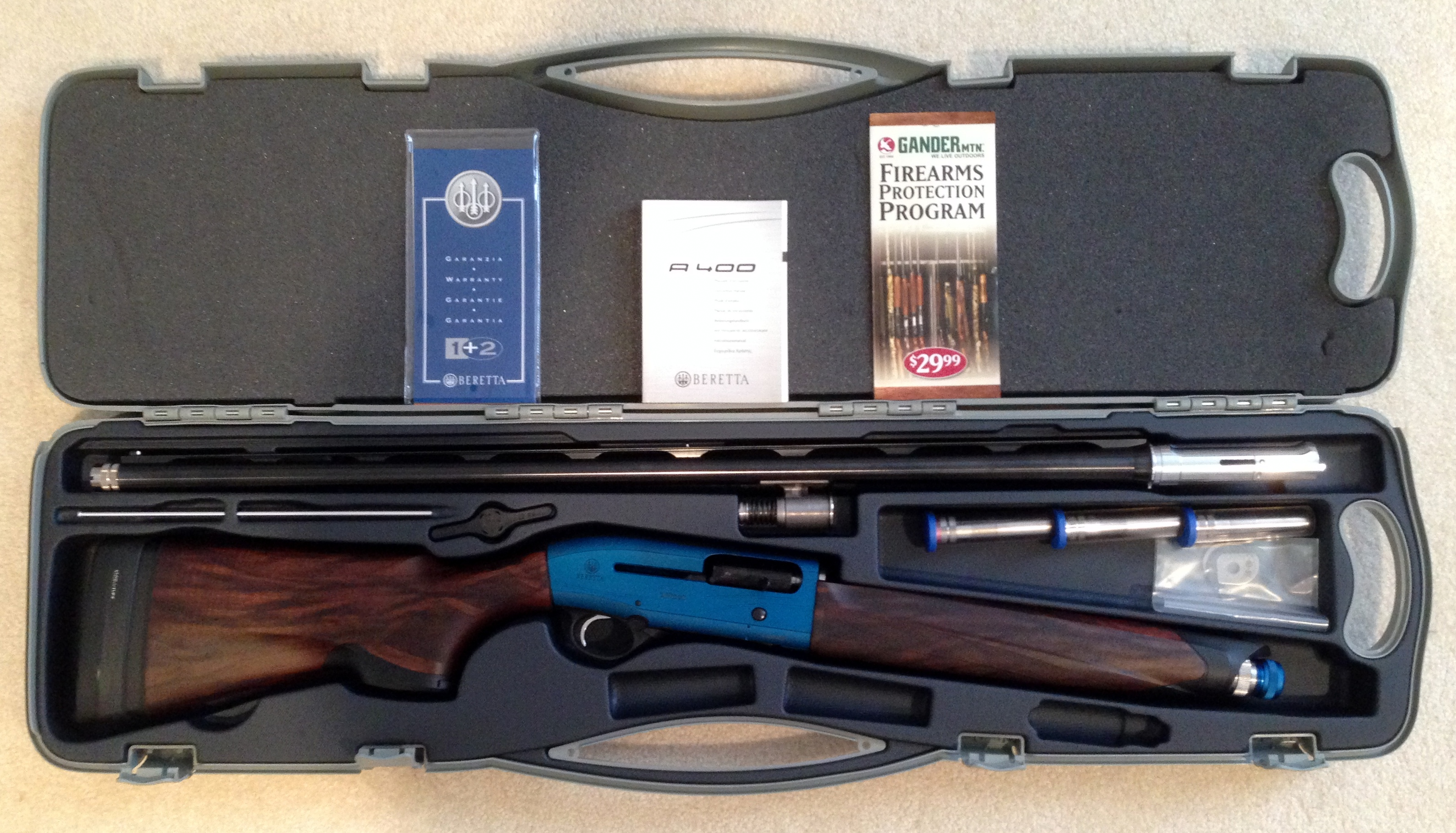 Break barrel semi auto shotgun: the new Beretta UGB25 Xcel - The ...