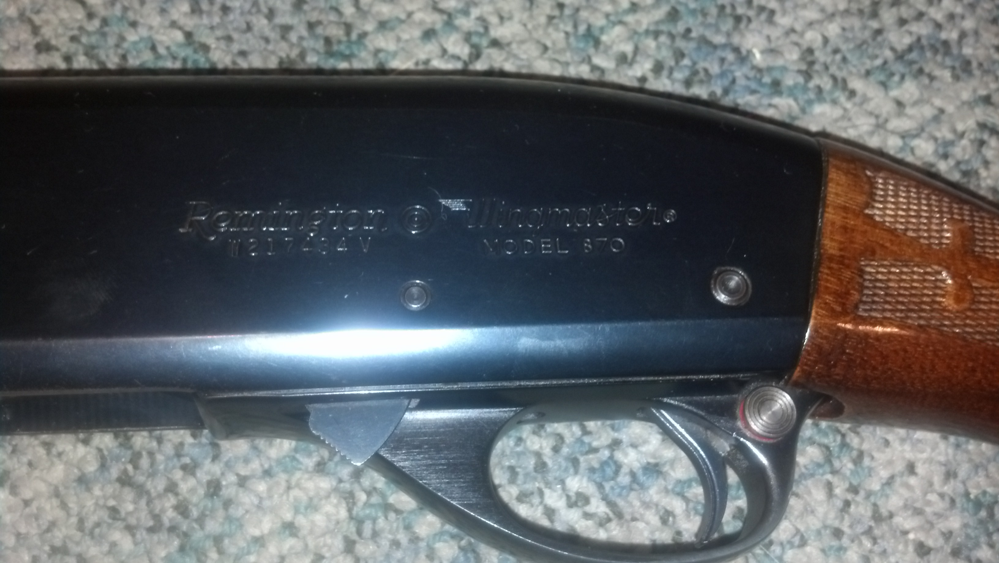 remington 870 serial number dates